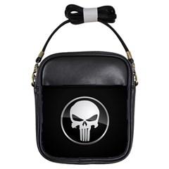 The Punisher Wallpaper  Girl s Sling Bag