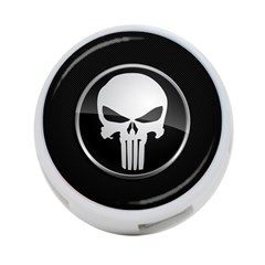 The Punisher Wallpaper  4 Port Usb Hub (two Sides)