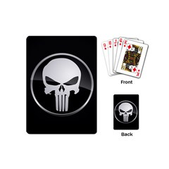 The Punisher Wallpaper  Playing Cards (Mini)