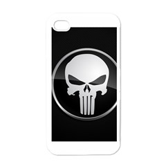 The Punisher Wallpaper  Apple iPhone 4 Case (White)