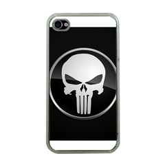 The Punisher Wallpaper  Apple iPhone 4 Case (Clear)