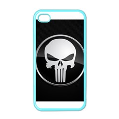 The Punisher Wallpaper  Apple Iphone 4 Case (color)