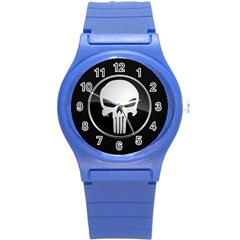 The Punisher Wallpaper  Plastic Sport Watch (Small)