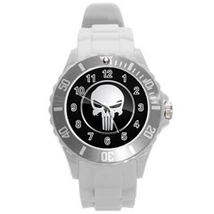 The Punisher Wallpaper  Plastic Sport Watch (Large)