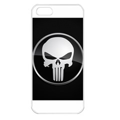 The Punisher Wallpaper  Apple iPhone 5 Seamless Case (White)