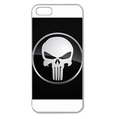 The Punisher Wallpaper  Apple Seamless Iphone 5 Case (clear)