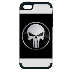 The Punisher Wallpaper  Apple Iphone 5 Hardshell Case (pc+silicone)