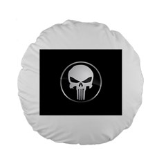 The Punisher Wallpaper  15  Premium Round Cushion
