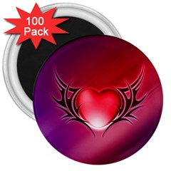 9108 3  Button Magnet (100 Pack)