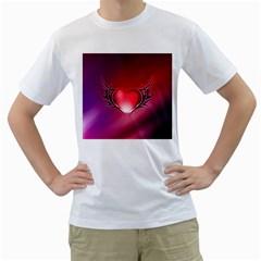 9108 Mens  T-shirt (White)