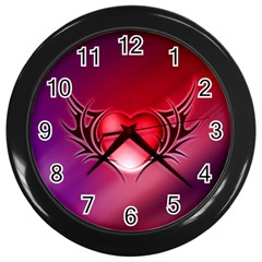 9108 Wall Clock (Black)