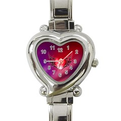 9108 Heart Italian Charm Watch
