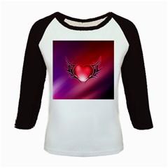 9108 Women s Long Cap Sleeve T-Shirt