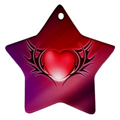 9108 Star Ornament (Two Sides)