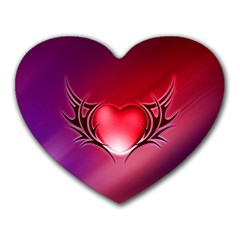 9108 Mouse Pad (heart)