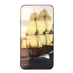 French Warship Apple iPhone 4/4s Seamless Case (Black)