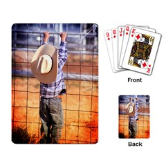 LITTLE COWBOY Playing Cards Single Design