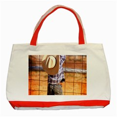 Little Cowboy Classic Tote Bag (red)