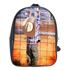 LITTLE COWBOY School Bag (Large)