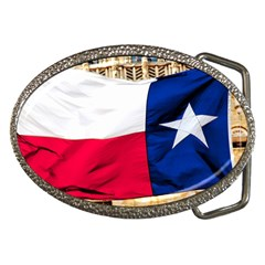 TEXAS Belt Buckle (Oval)