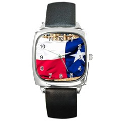 TEXAS Square Leather Watch