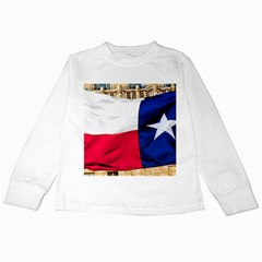 Texas Kids Long Sleeve T Shirt