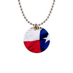 Texas Button Necklace