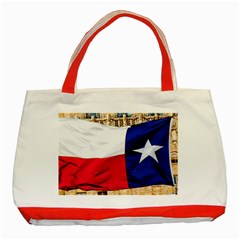 Texas Classic Tote Bag (red)