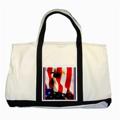 TRUE COWGIRL Two Toned Tote Bag
