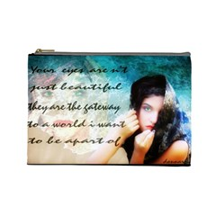 My Eye Only Cosmetic Bag (large)