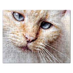 Blue Eyes Jigsaw Puzzle (rectangle)