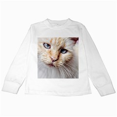 BLUE EYES Kids Long Sleeve T-Shirt