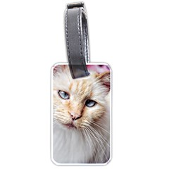 BLUE EYES Luggage Tag (Two Sides)