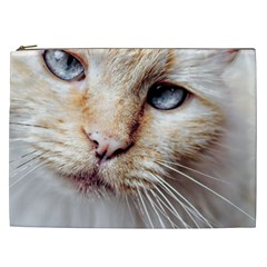 Blue Eyes Cosmetic Bag (xxl)