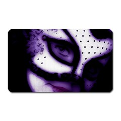 PURPLE M Magnet (Rectangular)