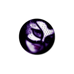 PURPLE M Golf Ball Marker