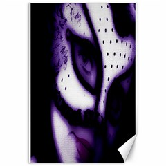 PURPLE M Canvas 12  x 18  (Unframed)