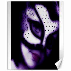 PURPLE M Canvas 16  x 20  (Unframed)