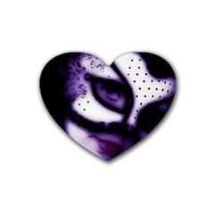 Purple M Drink Coasters (heart)