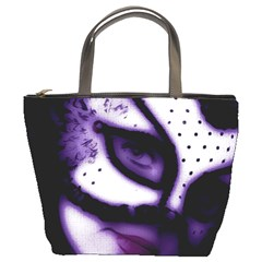 PURPLE M Bucket Bag