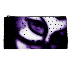 Purple M Pencil Case
