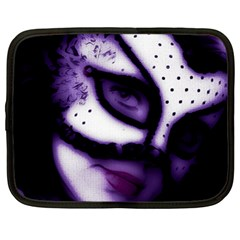 PURPLE M Netbook Case (XL)