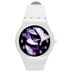 PURPLE M Plastic Sport Watch (Medium)