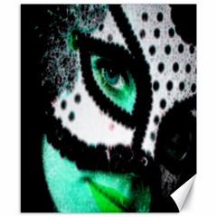 Masked Canvas 8  X 10  (unframed)