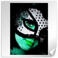 Masked Canvas 20  X 20  (unframed)