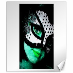 Masked Canvas 20  X 24  (unframed)