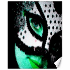 Masked Canvas 11  X 14  9 (unframed)