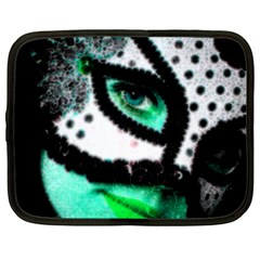 MASKED Netbook Case (Large)