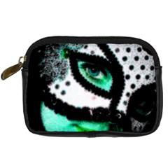 Masked Digital Camera Leather Case