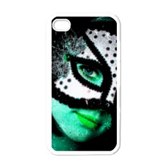 Masked Apple Iphone 4 Case (white)